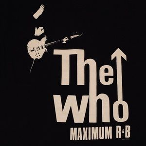 VINTAGE 90s THE WHO BAND TEE SIZE LARGE!